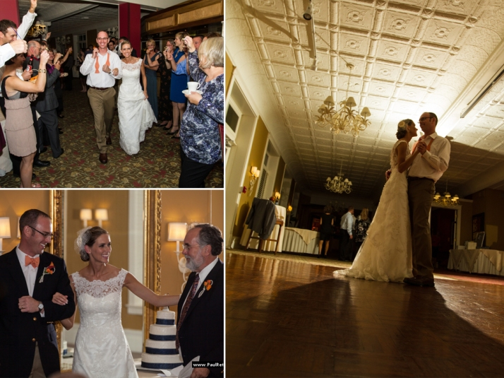 Stafford's Perry Hotel Wedding
