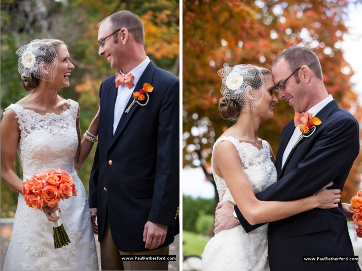 Becky and Aaron were married in October at Stafford's Perry Hotel in Petoskey, MI.