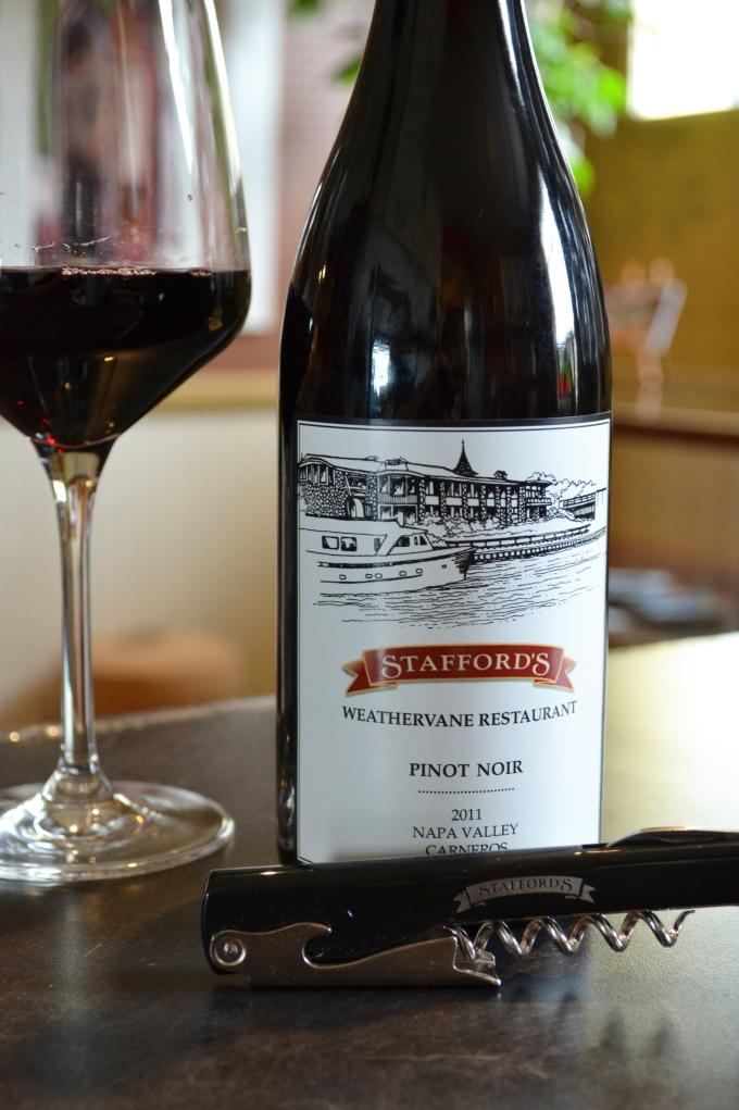 Stafford's Pinot Noir Wine