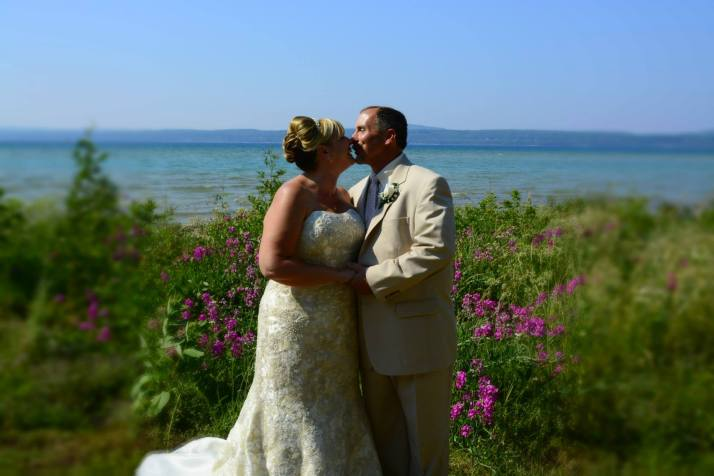 Gary & Bernadette had an intimate wedding on July 6, 2013 at Stafford's Bay View Inn in Petoskey.