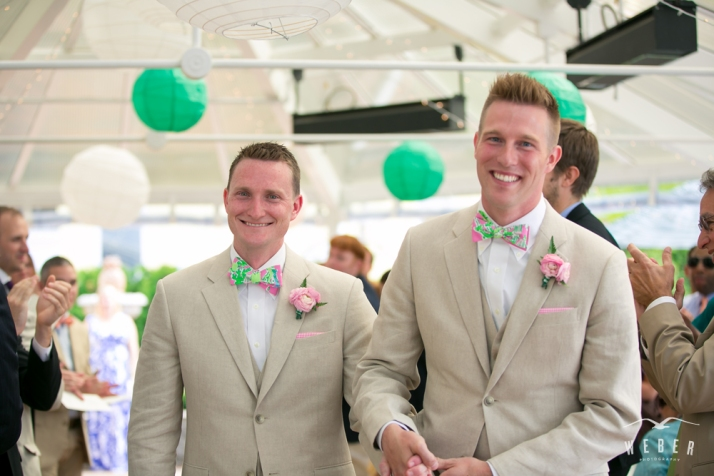 Michael & Robert were married in June 2013 at Stafford's Perry Hotel.