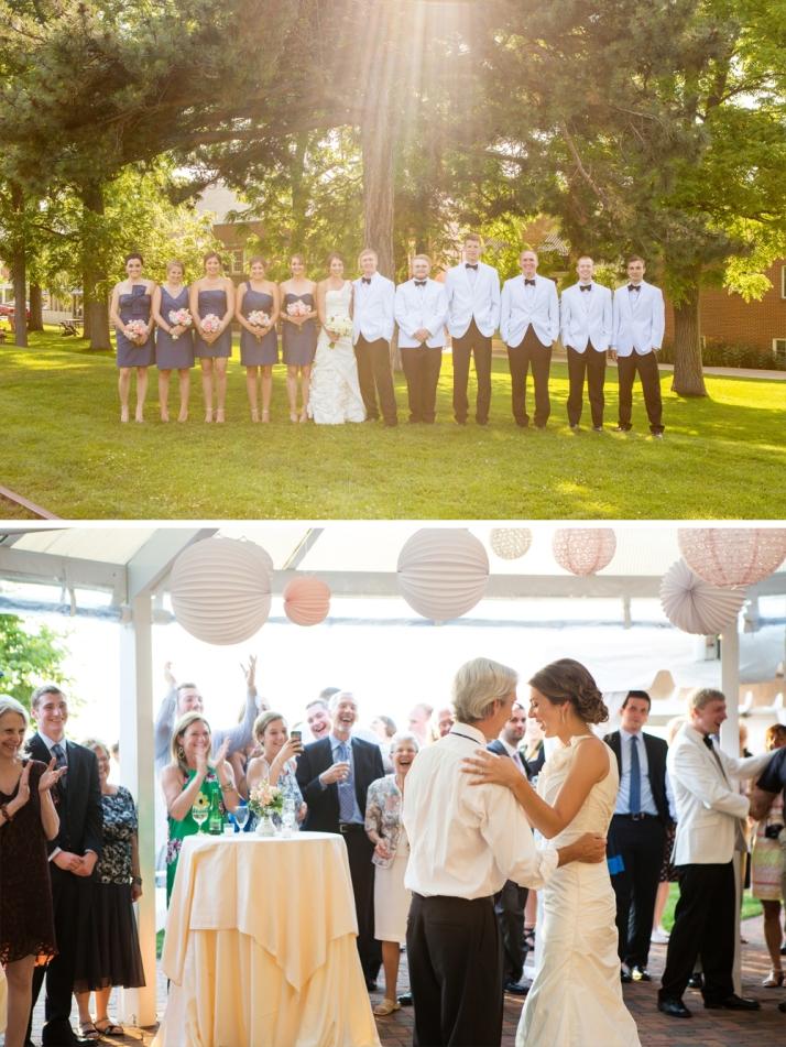 Amy & Taylor Wedding Collage 2
