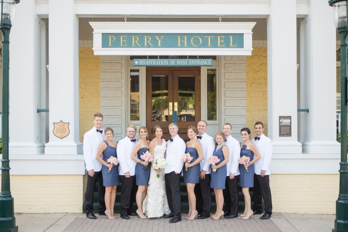 Amy & Taylor were married in July at Stafford's Perry Hotel, downtown Petoskey.
