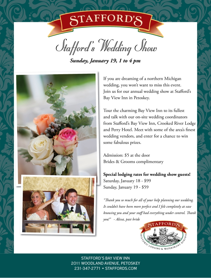 Stafford's Wedding Show
