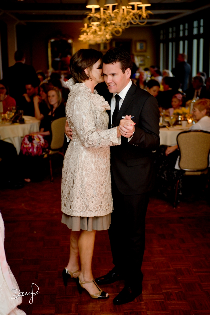 Mother-Son Dance in the H.O. Rose Room at Stafford's Perry Hotel - Dan Johnson Photography