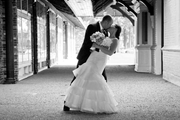 Adam & Bailey Married In July in Downtown Petoskey