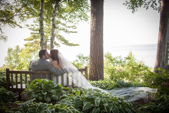 Rob & Melissa married in August at Stafford's Bay View Inn in Petoskey.