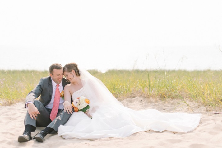 Nathan & Katelyn were married in August in Petoskey.